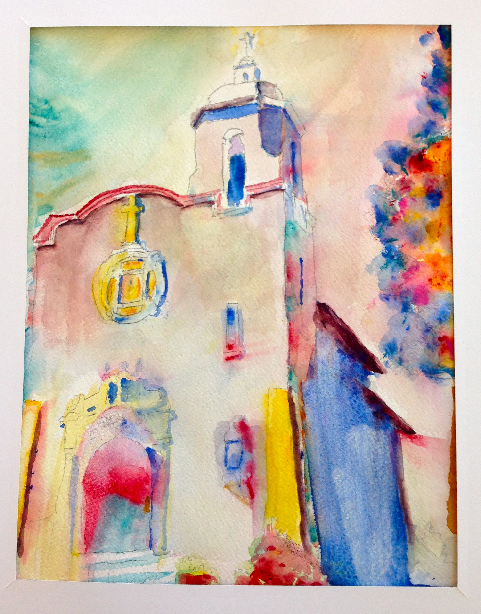 February Watercolor Workshop Results